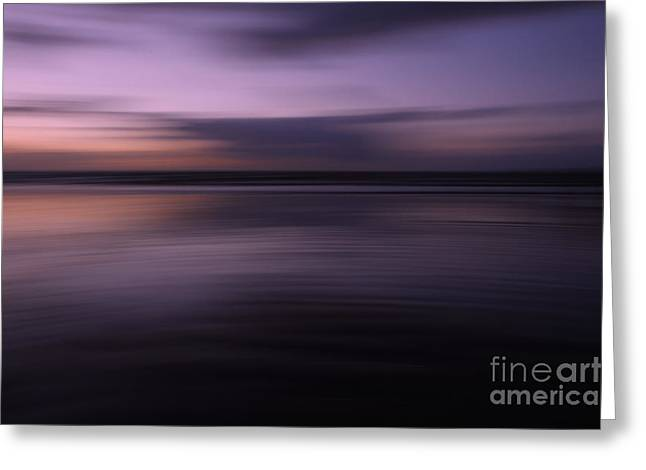 Purple Sunset Greeting Card by Urban Shooters
