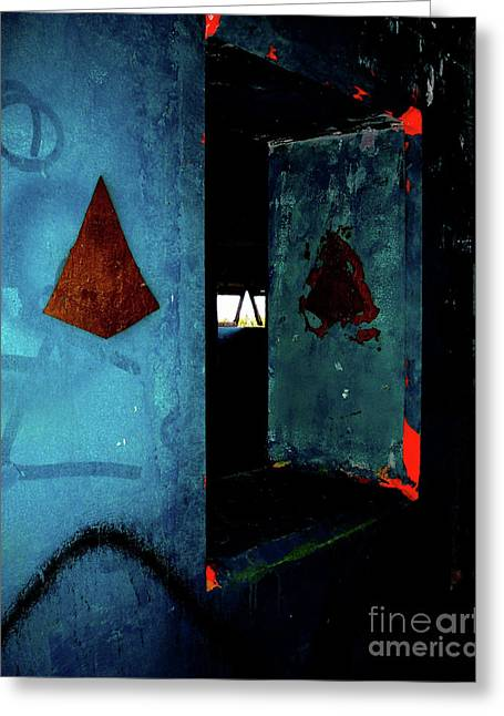 Greeting Card featuring the photograph Pyramid Power by Newel Hunter