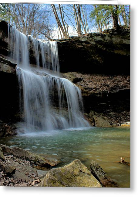 Quakertown Falls Greeting Card
