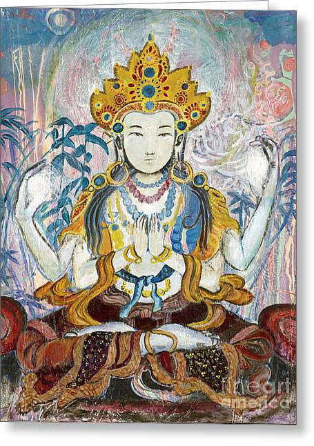 Quan Yin Greeting Card