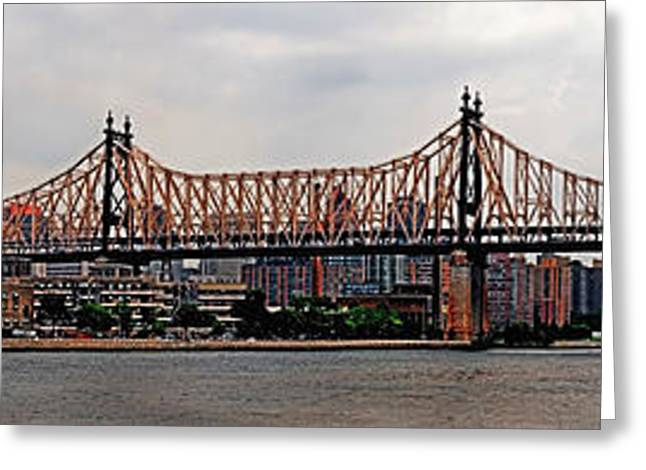 Queensboro Bridge Greeting Card