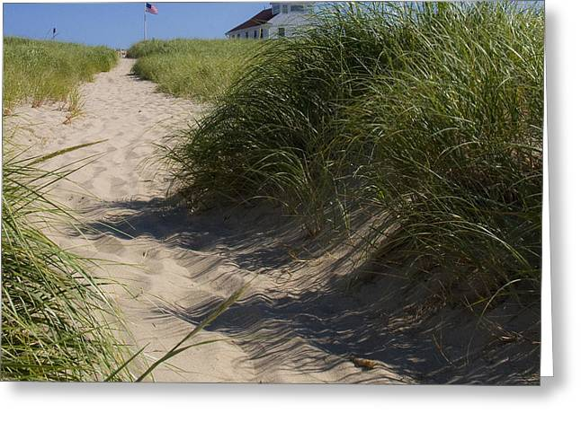 Greeting Card featuring the photograph Race Point by Michael Friedman