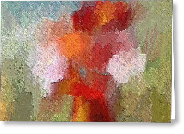 Radiant  Greeting Card by Ely Arsha