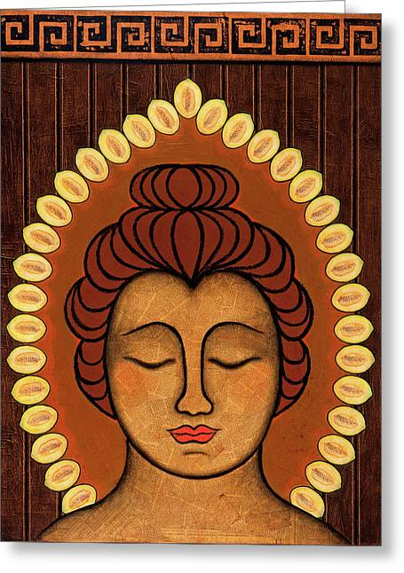 Radiant Peace Greeting Card