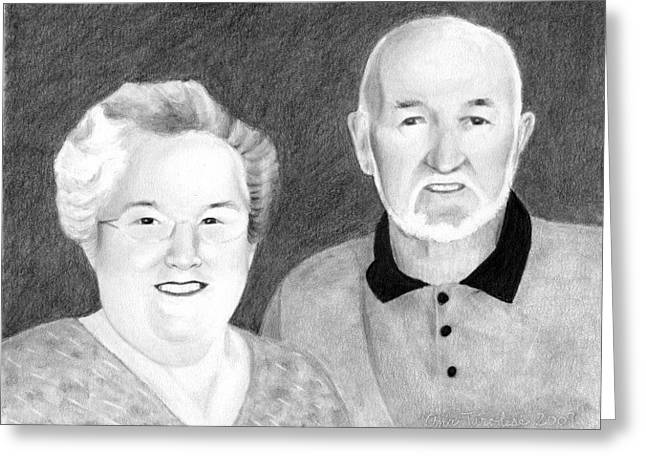 Raeleen And Jim Campbell Greeting Card