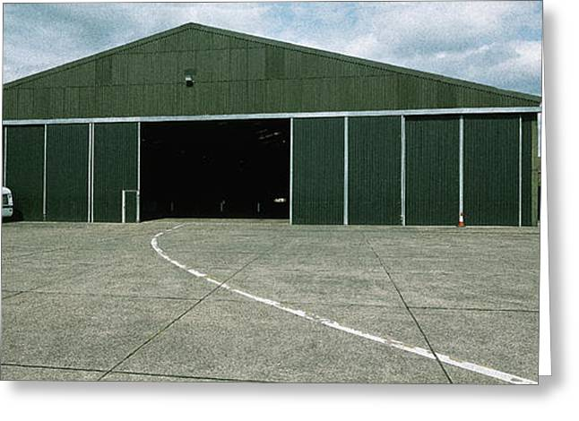 Raf Elvington Hangar Greeting Card by Jan W Faul