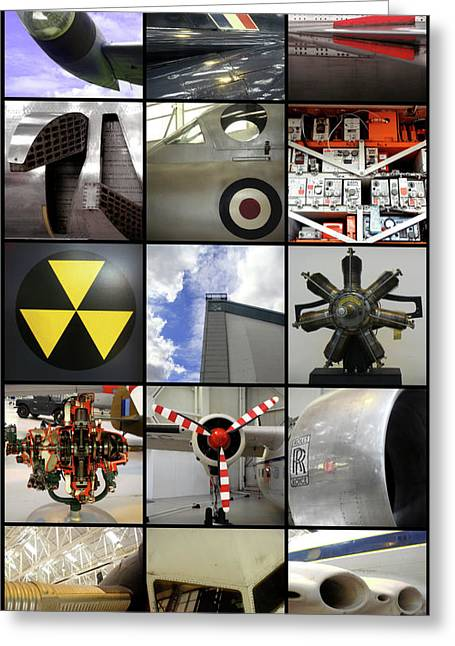 Raf Museum At Cosford Greeting Card
