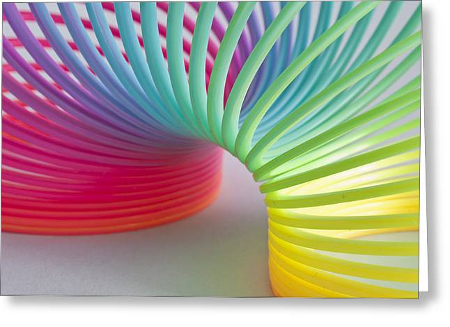 Rainbow 1 Greeting Card by Steve Purnell