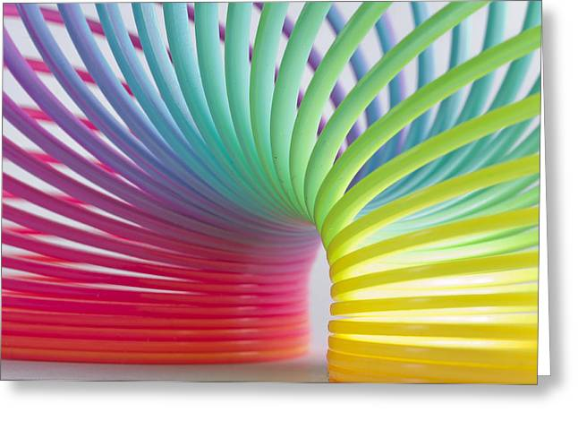 Rainbow 5 Greeting Card by Steve Purnell
