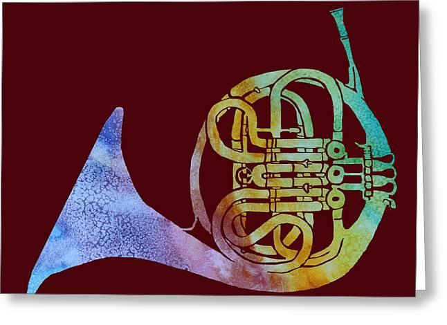 Rainbow Frenchhorn  Greeting Card