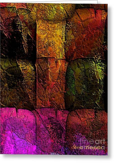 Rainbows And Stone 2 Greeting Card