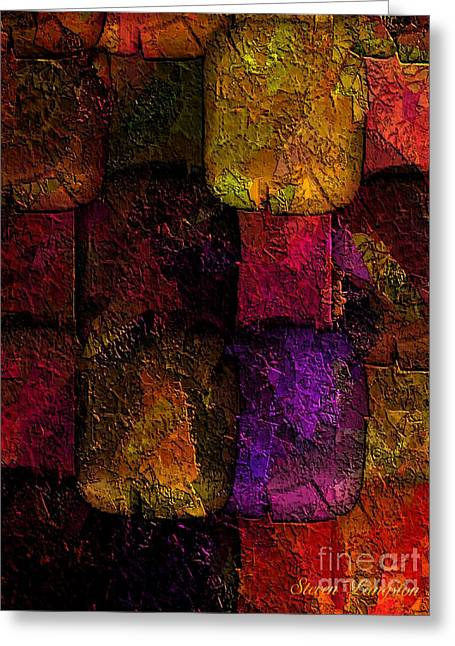 Rainbows And Stones Greeting Card