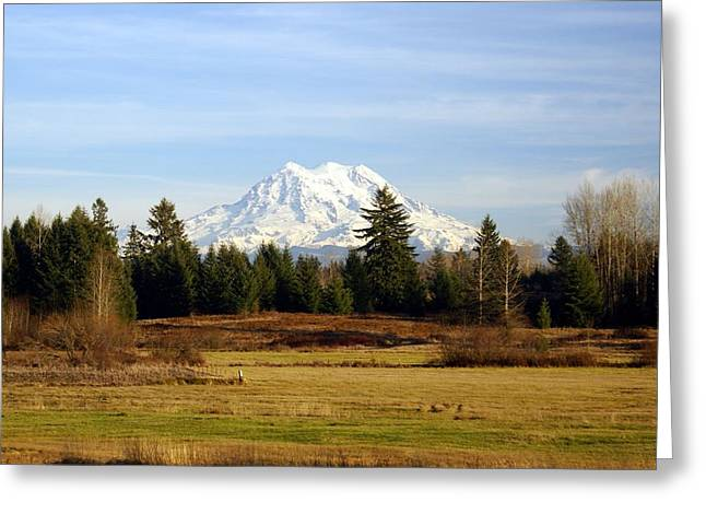 Rainier Standing Tall Greeting Card