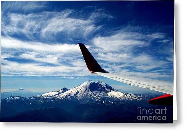 Rainier The Beautiful  3 Greeting Card