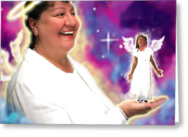 Ralphs.angelic Greeting Card