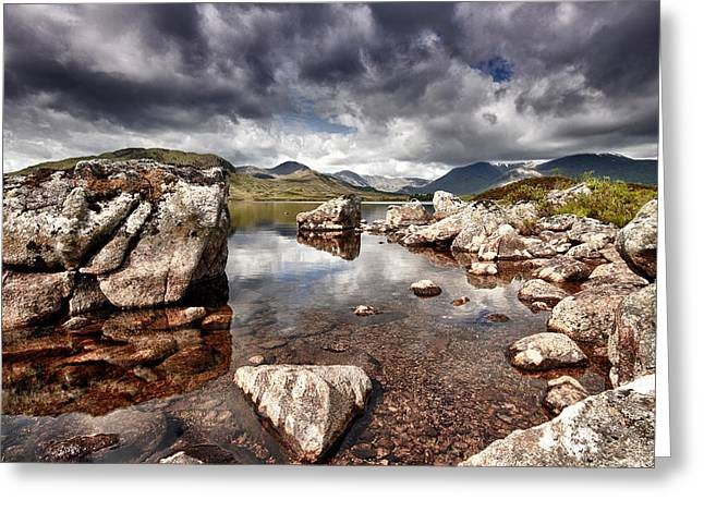 Rannoch Moor  Scotland Greeting Card