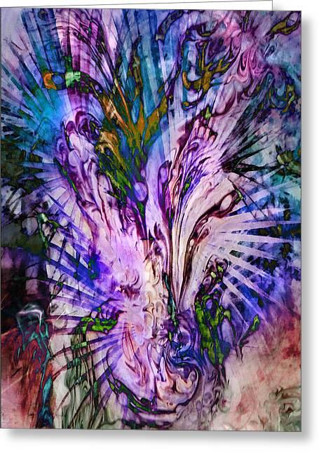 Rapture Greeting Card by Francesa Miller