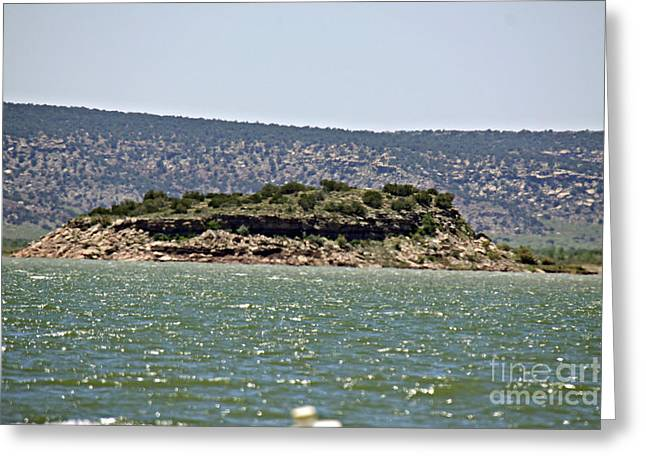 Rattlesnake Island Greeting Card