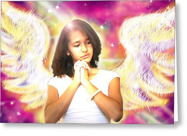 Ravert.angelic 2 Greeting Card