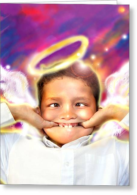 Ravert.angelic 4 Greeting Card
