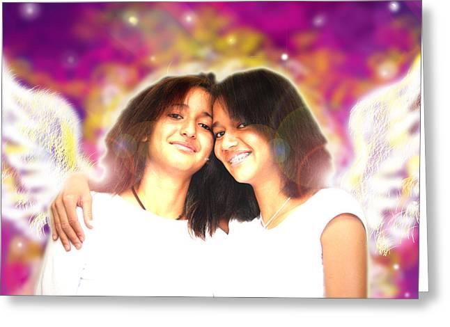 Ravert.angelic 5 Greeting Card