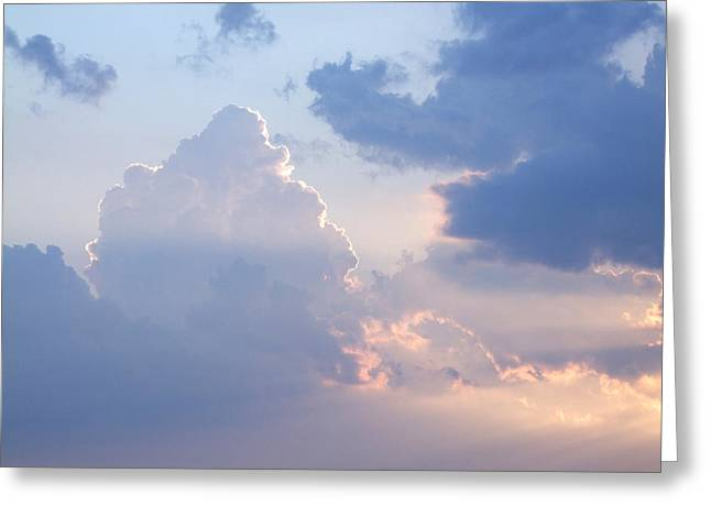 Reach For The Sky 4 Greeting Card by Mike McGlothlen