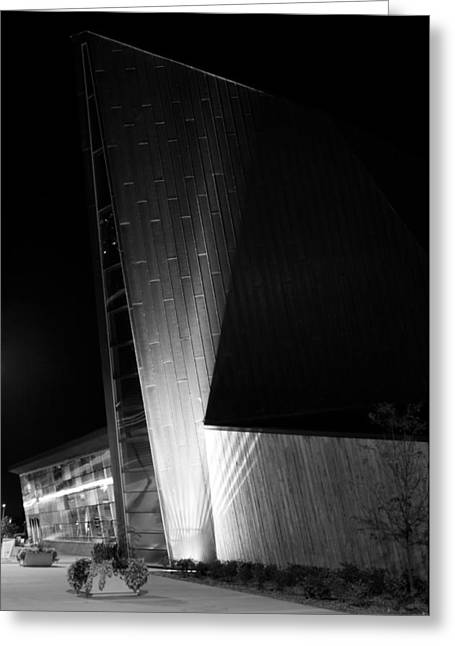 Greeting Card featuring the photograph Reaching Into The Night by JM Photography