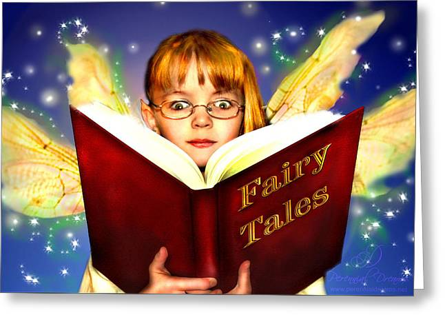 Read More Fairy Tales Greeting Card