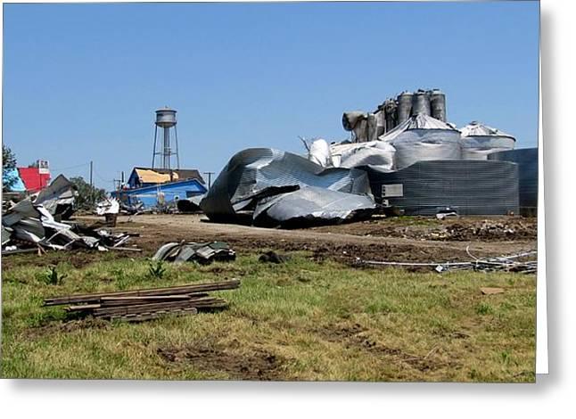 Reading Kansas Tornado Recovery  Greeting Card