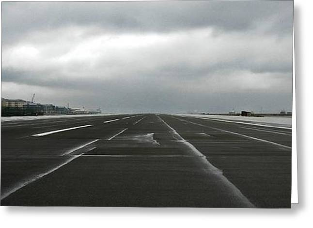 Ready For Take Off ... Greeting Card by Juergen Weiss