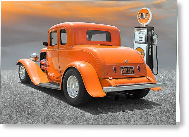 Ready To Cruise Greeting Card by Stephen Warren