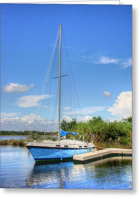 Ready To Sail Greeting Card by Barry Jones