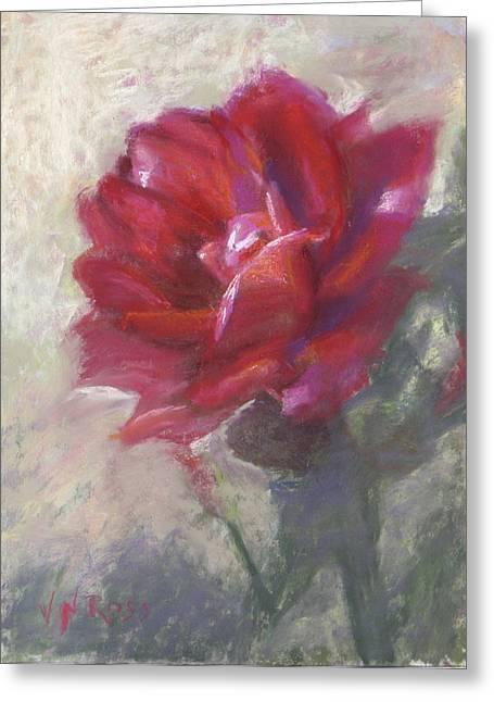 Reba's Rose Greeting Card