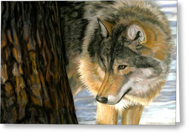 Greeting Card featuring the painting Reclaiming The Wild by Sheri Gordon