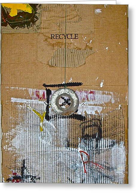 Recycle  Greeting Card by Cliff Spohn