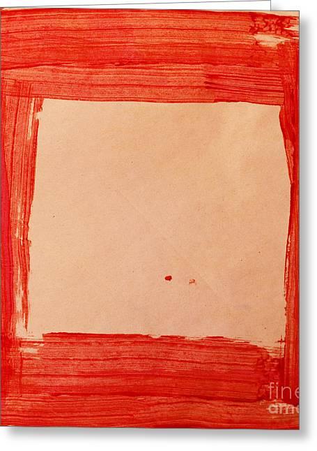 Red Frame   Greeting Card by Igor Kislev