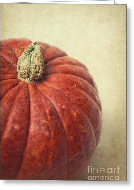 Red Pumpkin Greeting Card