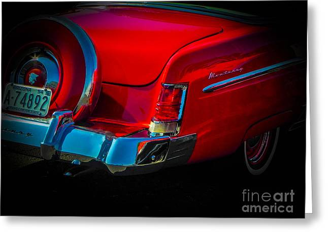 Red Rider Greeting Card by Chuck Re