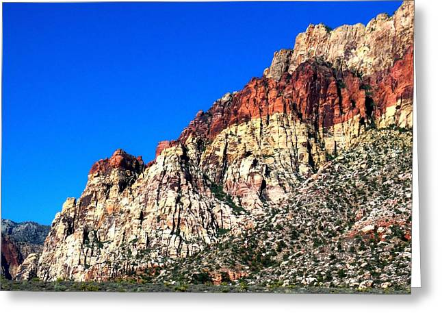 Red Rock Canyon 65 Greeting Card by Randall Weidner