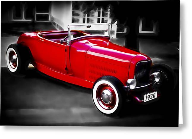 Red Rod Greeting Card by Phil 'motography' Clark