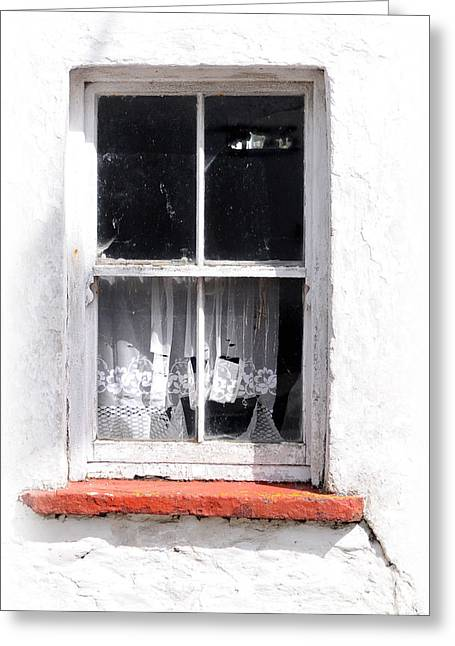 Red Sill Greeting Card by Marion Galt