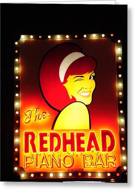 Redhead Greeting Card by Zannie B
