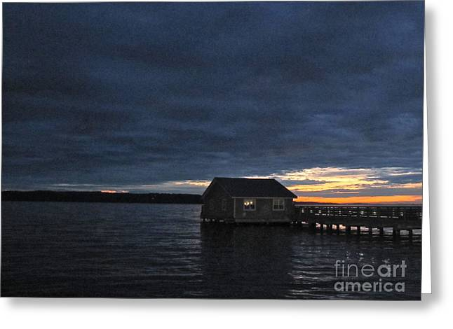 Greeting Card featuring the photograph Redondo Pier by Sean Griffin