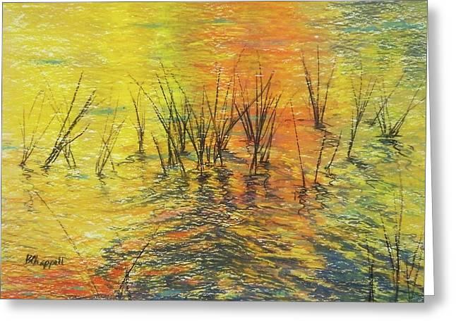 Reeds I Greeting Card