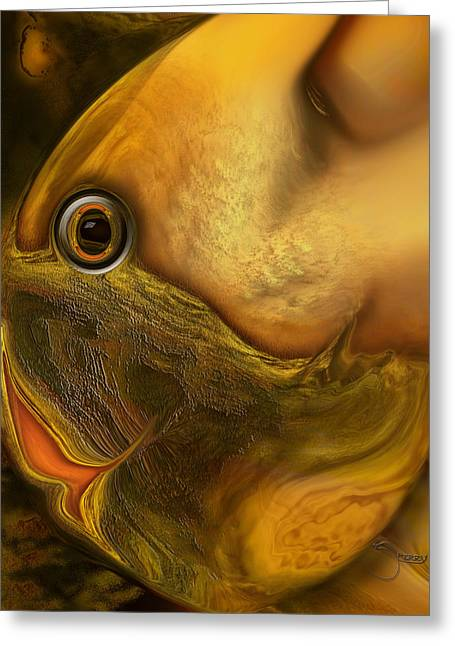 Reef Mistress Greeting Card by Steve Sperry