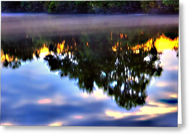 Reflection Greeting Card by Ken Beatty