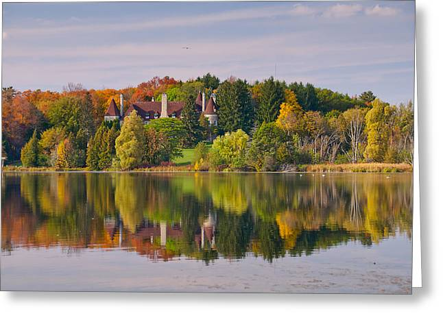 Reflection Greeting Card by Luba Citrin