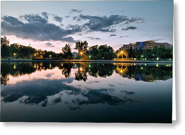 Greeting Card featuring the photograph Reflection by Okan YILMAZ