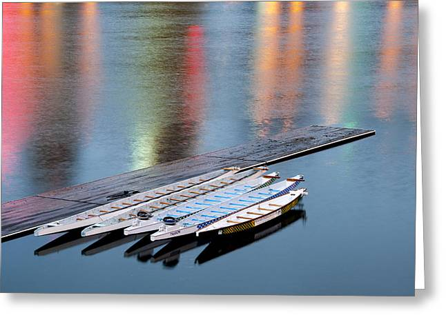 Reflections Greeting Card by Brian Bonham