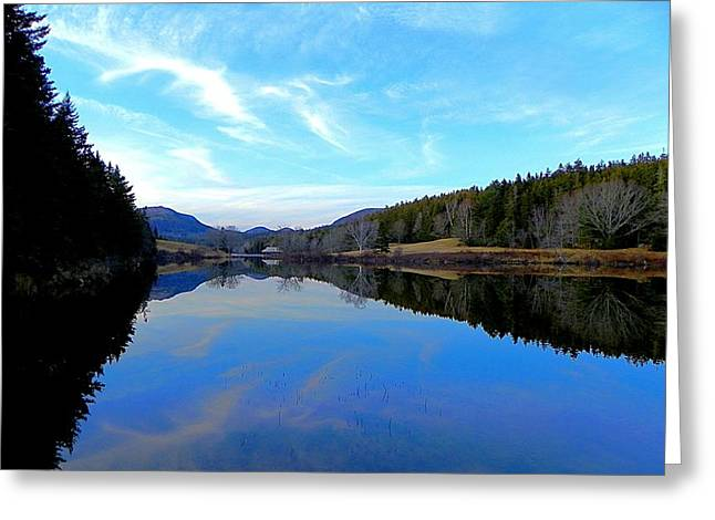 Reflections Greeting Card by Jamie  Campbell